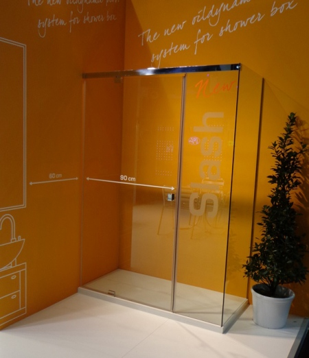 Shower screen Torino