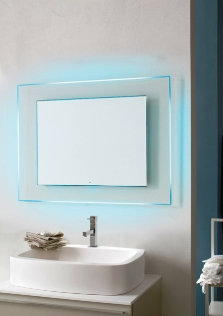 Мirror with LED backlight - Boreale