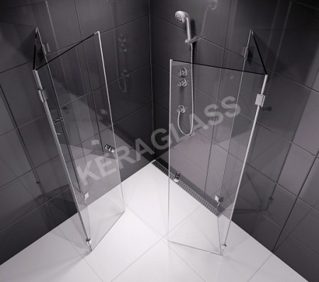 Shower enclosure - Paris 2  /folding doors/