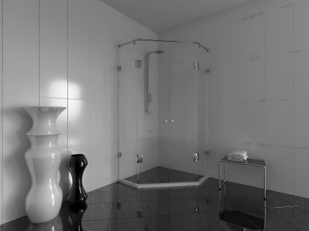 Shower enclosure - Berlin 2 /two doors/