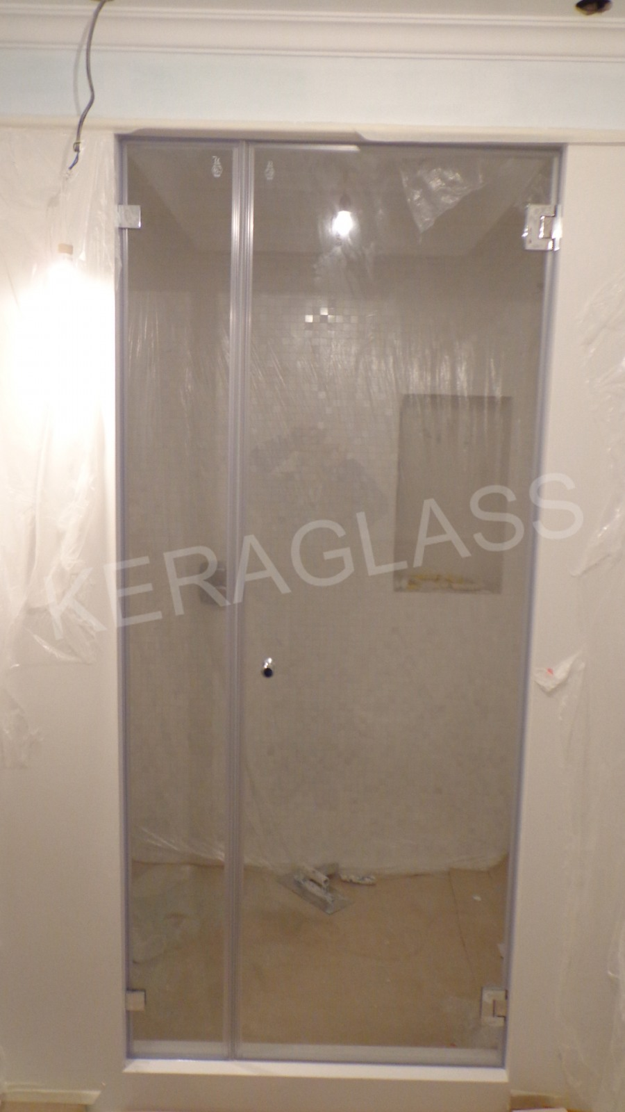 Shower box - Glass doors for saunas and steam or turkish baths